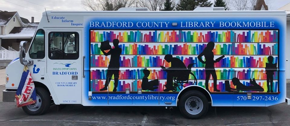 Bradford County New Bookmobile 2020